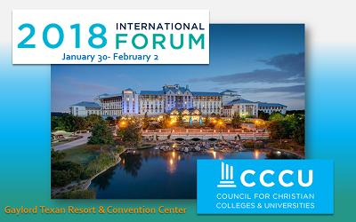 CCCU INT FORUM 2018