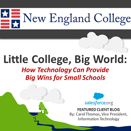 Little College, Big World: How Technology Can Provide Big Wins for Small Schools