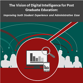 The Vision of Digital Intelligence for Postgraduate Education: Improving both Student Experience and Administrative Ease