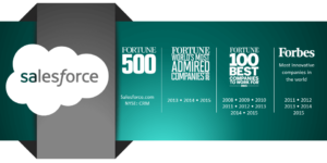 Sales Force Awards Infographic