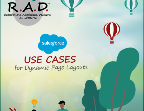 R.A.D. Uses of the Salesforce Dynamic Page Layouts