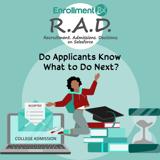 Do Applicants Know What to Do Next?
